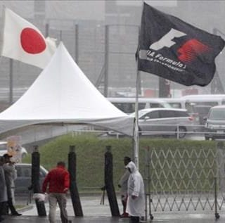 Typhoon Threatens Formula 1 Japanese Grand Prix