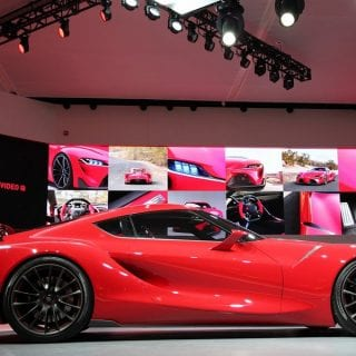 2017 Toyota FT1 Detroit Photos