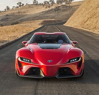 2017 Toyota FT1 Front Car Photos