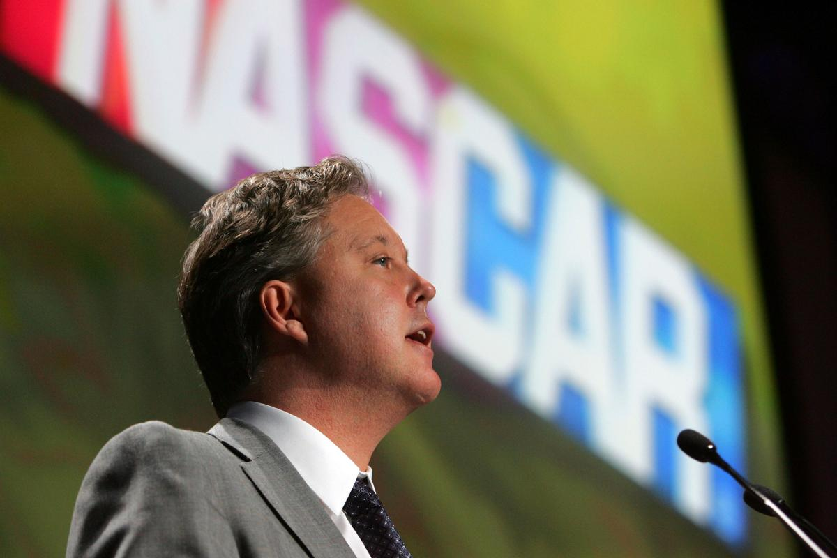 Brian France NASCAR CEO on Texas Motor Speedway Fight