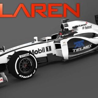 Fernando Alonso To McLaren Honda F1 2014 Car Photos