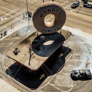 Ken Block Gymkhana 7 Los Angeles Randys Donuts