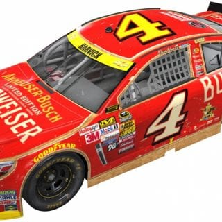 Kevin Harvick Budweiser Classic Car Photos