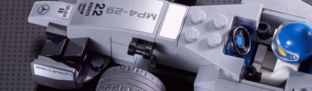 McLaren LEGO Set Speed Champions Line