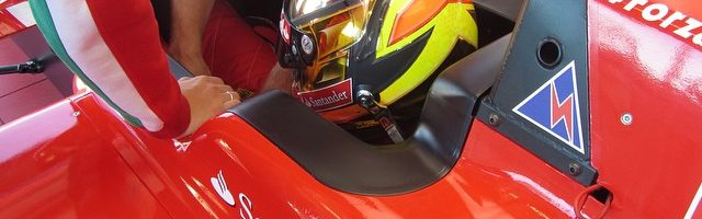 Karting Driver Visits Ferrari Driver Academy