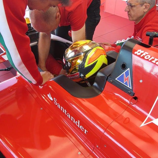 Team USA Karting Driver Visits Ferrari Driver Academy
