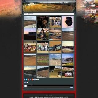 Kentucky Lake Motor Speedway Dirt Track Website Design