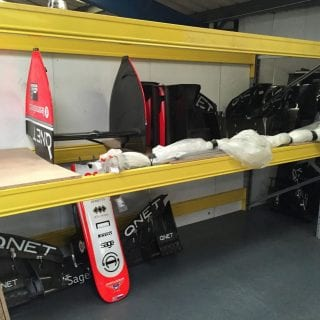 Marussia F1 Auction Photos Marussia Warehouse