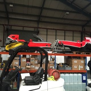 Marussia F1 Auction Photos Marussia Warehouse Sale