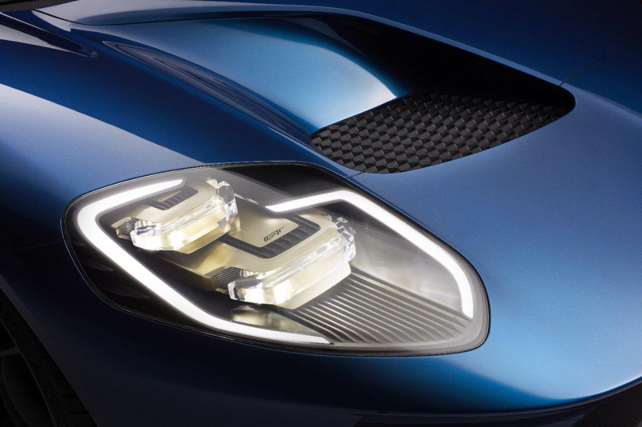 Ford Gt Headlights Photos