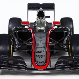 McLaren Honda 2015 Car MP4-30 Photos Front Wing View