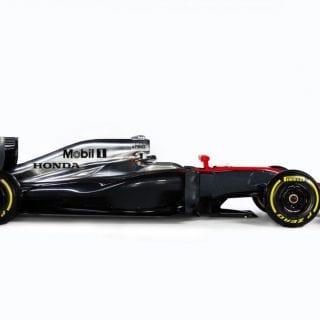 McLaren Honda 2015 Car MP4-30 Photos Side View
