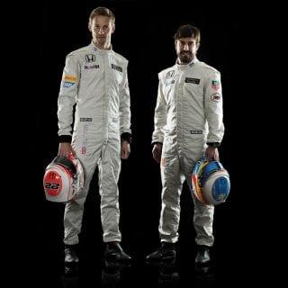 McLaren Honda 2015 Drivers Fernando Alonso Jenson Button
