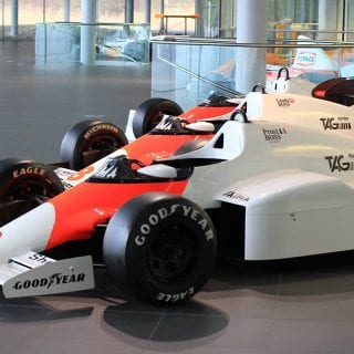 Old McLaren Honda Car Photos