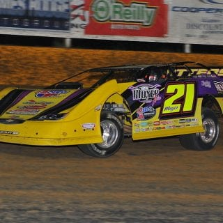Outlaw Motor Speedway Dirt Racing Website Design - Billy Moyer