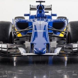 Sauber F1 2015 Car Front Wing Photos
