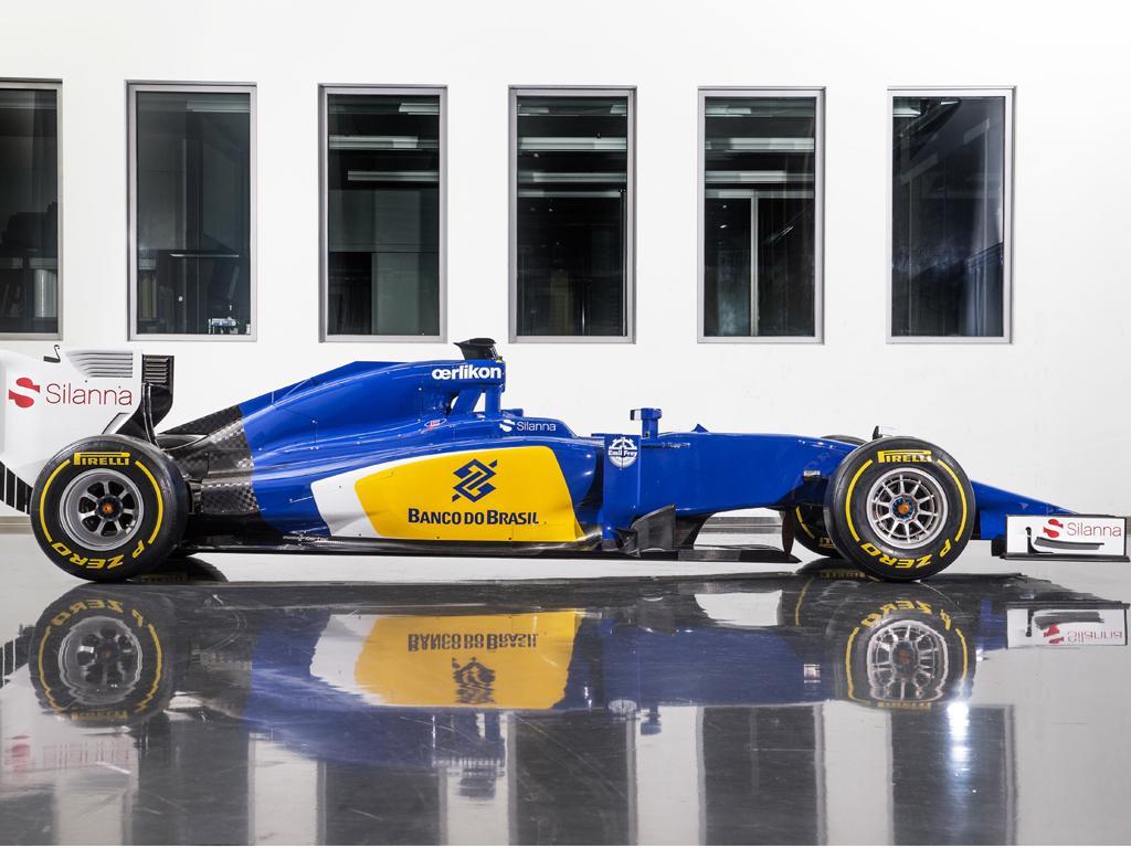 Sauber F1 2015 Car Presents Sauber C34-Ferrari