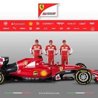 Scuderia Ferrari F1 2015 Car