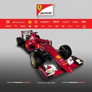 Scuderia Ferrari F1 2015 Car SF15-T Front Photos