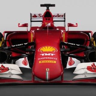 Scuderia Ferrari F1 2015 Car SF15-T Front Wing Photos
