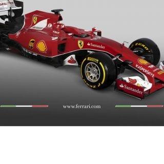 Scuderia Ferrari F1 2015 Car SF15-T Photo