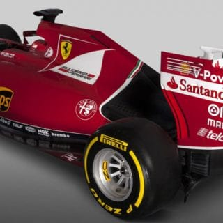 Scuderia Ferrari F1 2015 Car SF15-T Rear Wing Photos