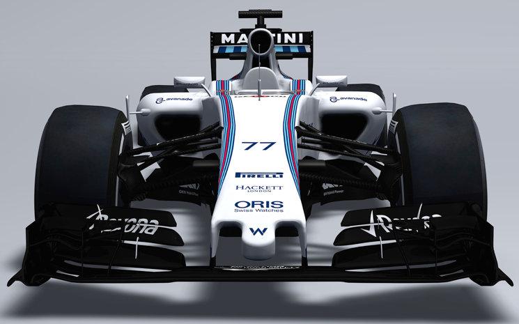 Williams Martini Racing 2015 Car Williams Mercedes FW37 Photos Front