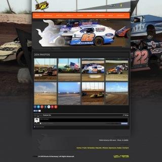 2015 Route 45 Raceway Website Design - Walters Web Design