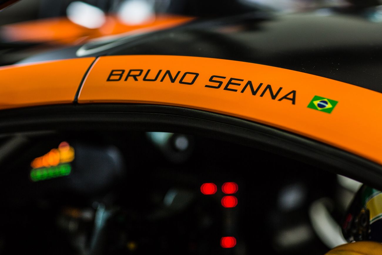 Bruno Senna McLaren GT Driver Photos