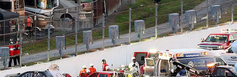 Daytona Safer Barriers Being Installed Around Track Tonight
