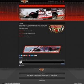 Rage Chassis Builder Website Design - Walters Web Design