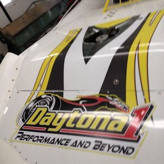 Darin Henderson Racing Crate Dirt Late Model Daytona 1 Lubricants