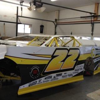 Darin Henderson Racing Crate Dirt Late Model Driver