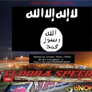 Eldora Speedway Website Hacked ISIS
