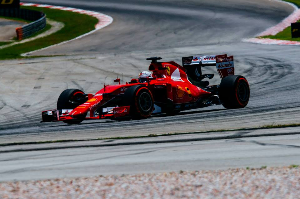 Sebastian Vettel Wins First Race with Scuderia Ferrari
