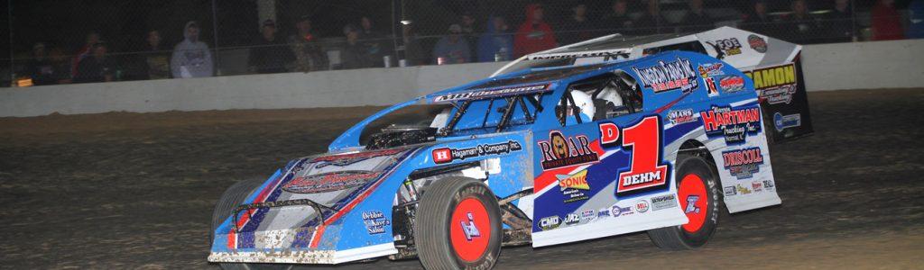 Lance Dehm Dirt Modified Driver Website Design