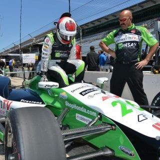 Carlos Munoz Leads Indianapolis 500 Practice Speeds 230mph