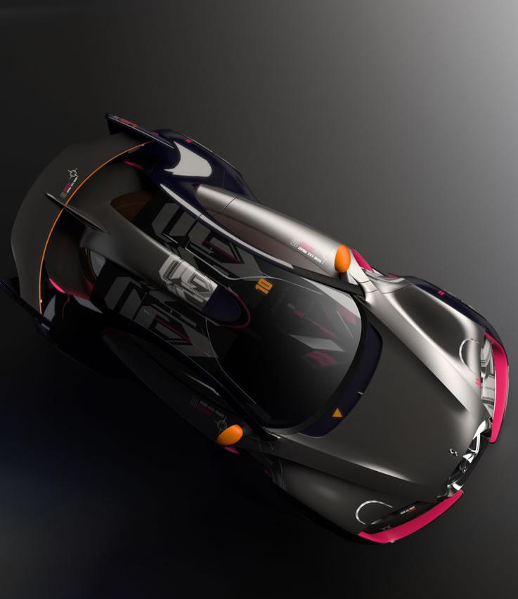 Citroen Survolt Concept Car Photos