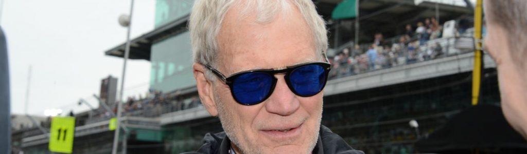 David Letterman Indy Car Owner Photos