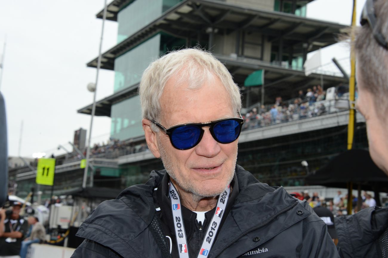 David Letterman Indy Car Owner Photos Indianapolis 2013