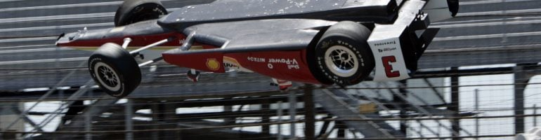 Helio Castroneves Crash Video – Driver Returns Hours Later