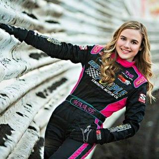 McKenna Haase Female Sprint Car Driver Knoxville Raceway