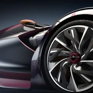 Red Citroen Survolt Wheels Photos