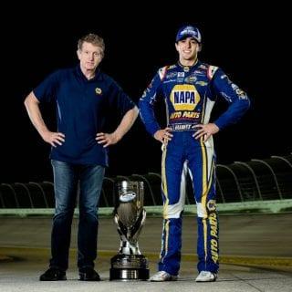 2014 Bill Elliott and Chase Elliott Championship Photo