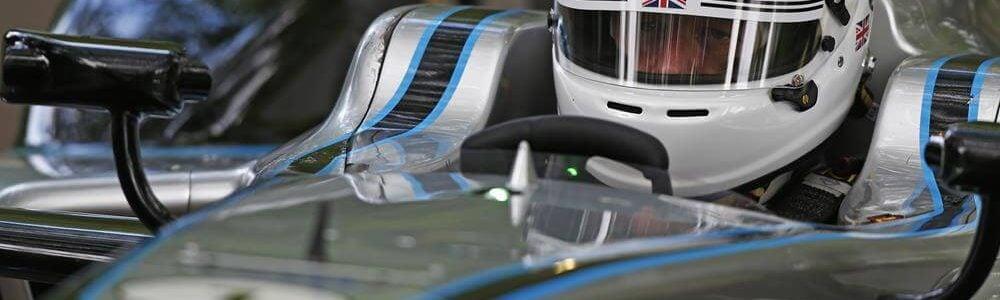London Mayor Boris Johnson Drives Formula E Car in London