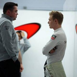 McLaren team principal Eric Boullier Plane Incident 2
