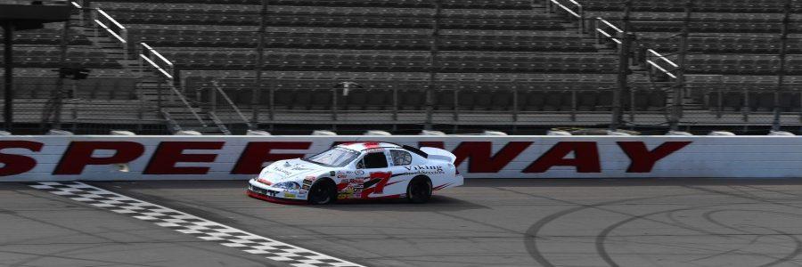 Ryan Heavner Loading For Chicagoland Speedway