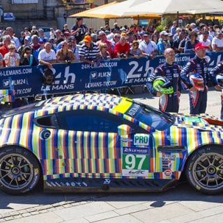Tobias Rehberger Art Car Photos Aston Martin Le Mans Car