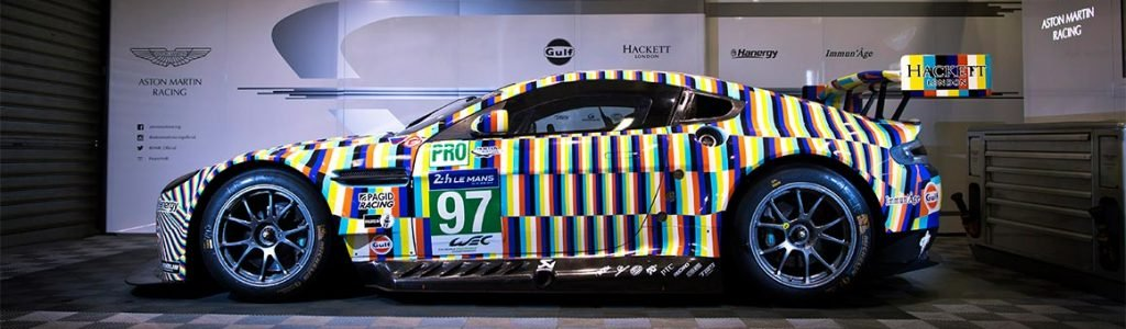 Tobias Rehberger Art Car 24 Hours of Le Mans