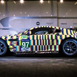 Tobias Rehberger Art Car Photos Aston Martin